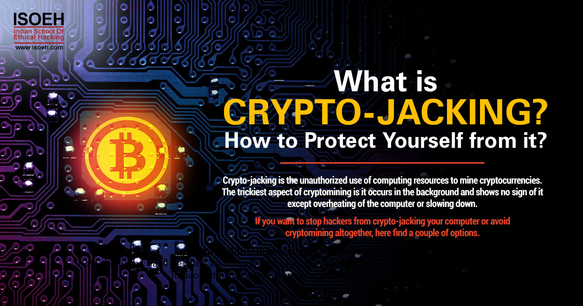 What is crypto-jacking? How to protect yourself from it? | Tutorials